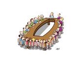 Bestuhlung 1. Konferenztag: Interessen identifizieren