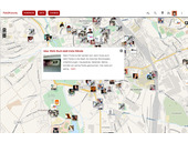 lokale Heatmap - Wo gibt es die meisten Ideen oder Probleme